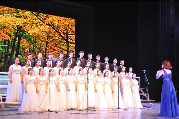 我校学子参加大学区校园文化艺术节展演暨颁奖典礼
