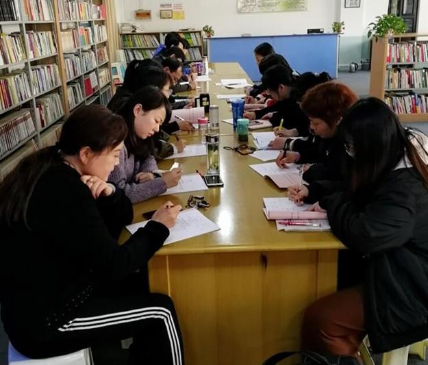 英语学科组大教研活动