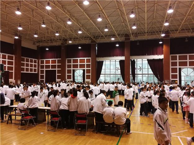 青春正当时――西安市第八十三中学举行社团纳新活动