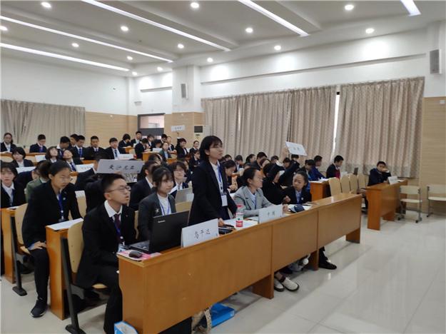 我校在2019年陕西省中学生模联会议中荣获最佳代表团奖